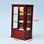 Display unite 1:12 dollhouse miniature shop store CABINET wood MH
