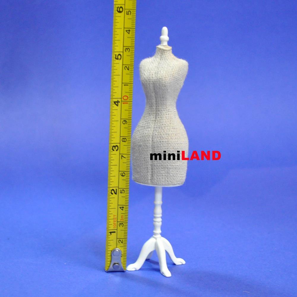Fine Quality Dress Form for 1:12 Scale dollhouse miniature wood ...