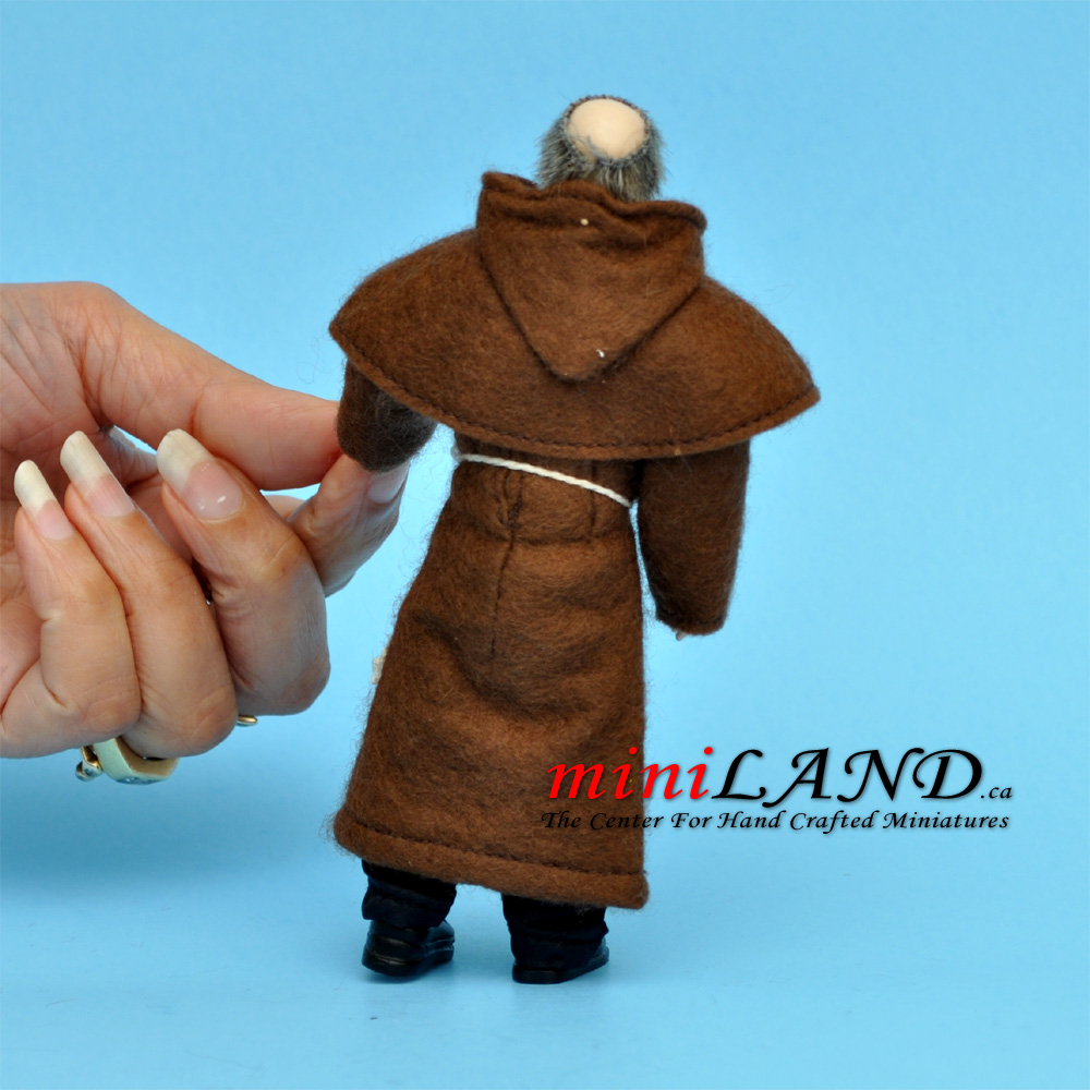 X059 Heidi Ott Doll House Old Man Male Monk 112 55h Dolls Wiring Kit Quick View
