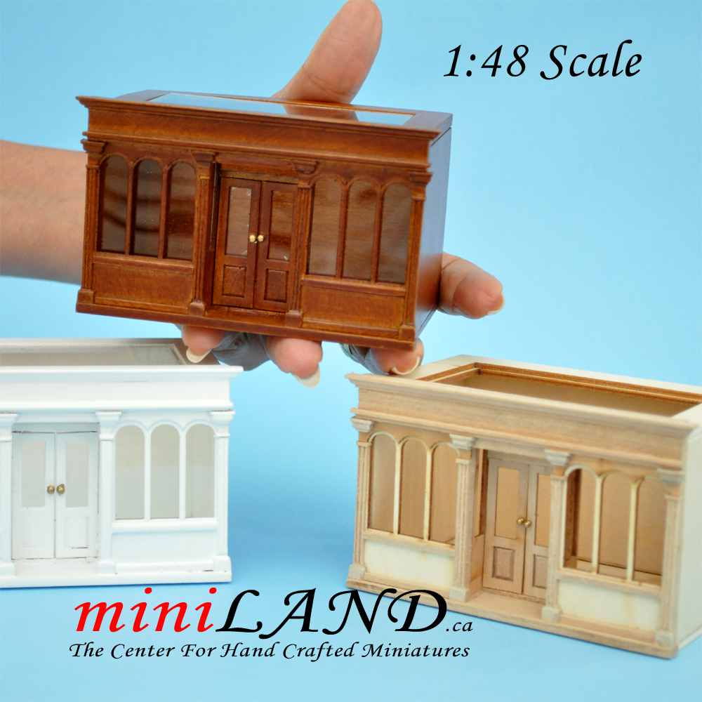 unfinished dollhouse furniture. 1:48 Scale LANDYGO STORE ROOMBOX DOLLHOUSE QUICK ASSEMBLY KIT, UNFINISHED Unfinished Dollhouse Furniture