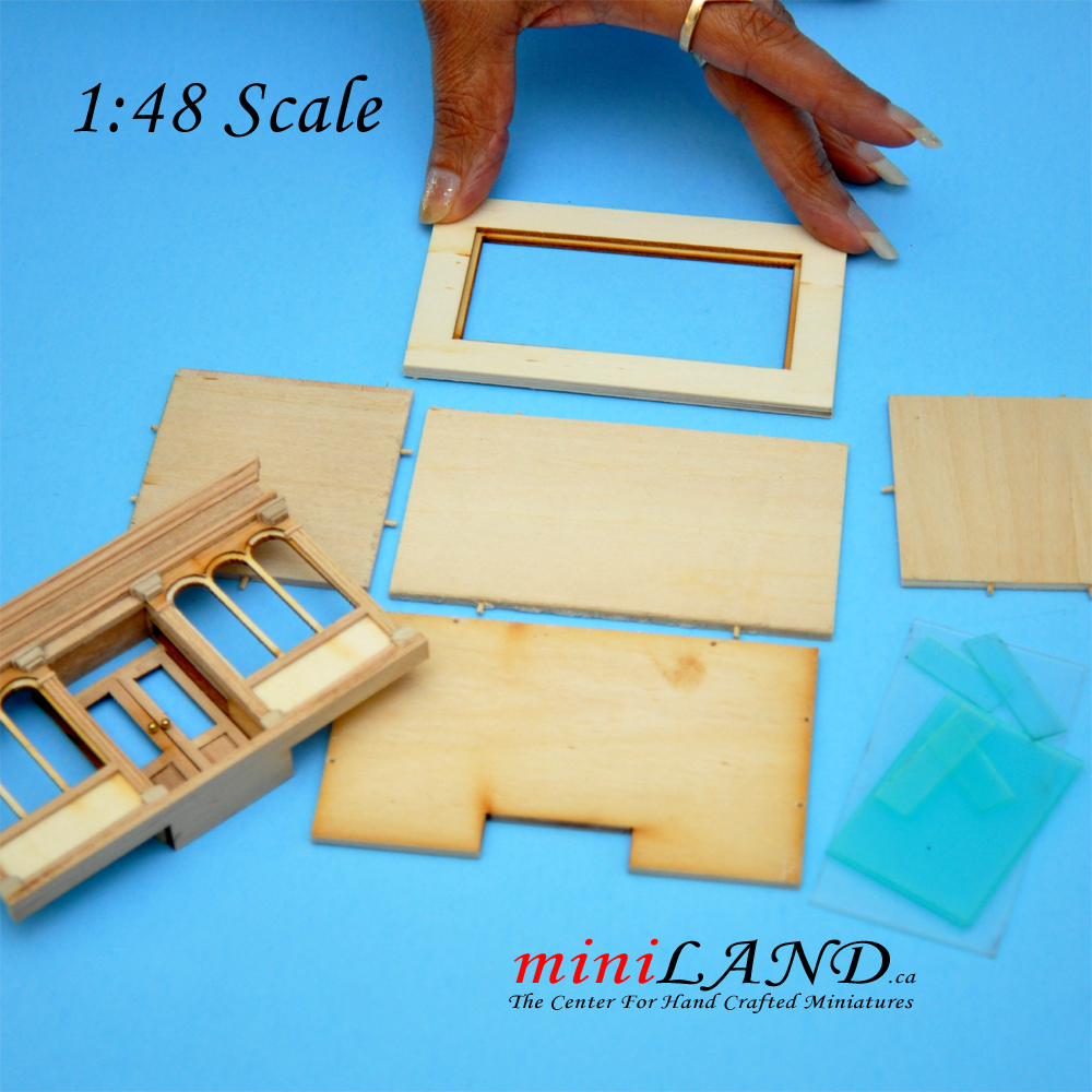 1 48 Scale Landygo Store Roombox Dollhouse Quick Assembly