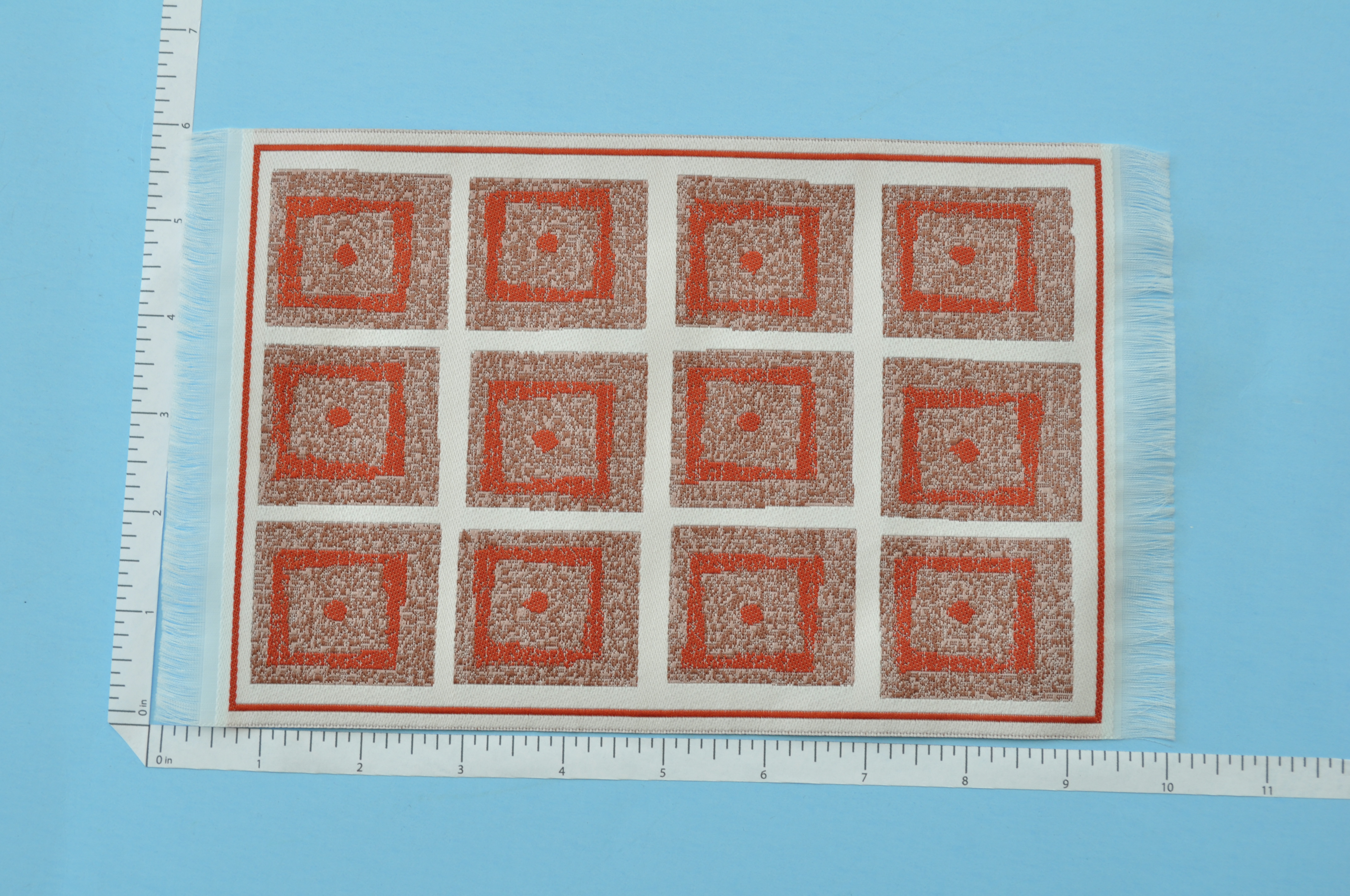 Clearance Sale Medium Art Deco Carpet Rug For Dollhouse