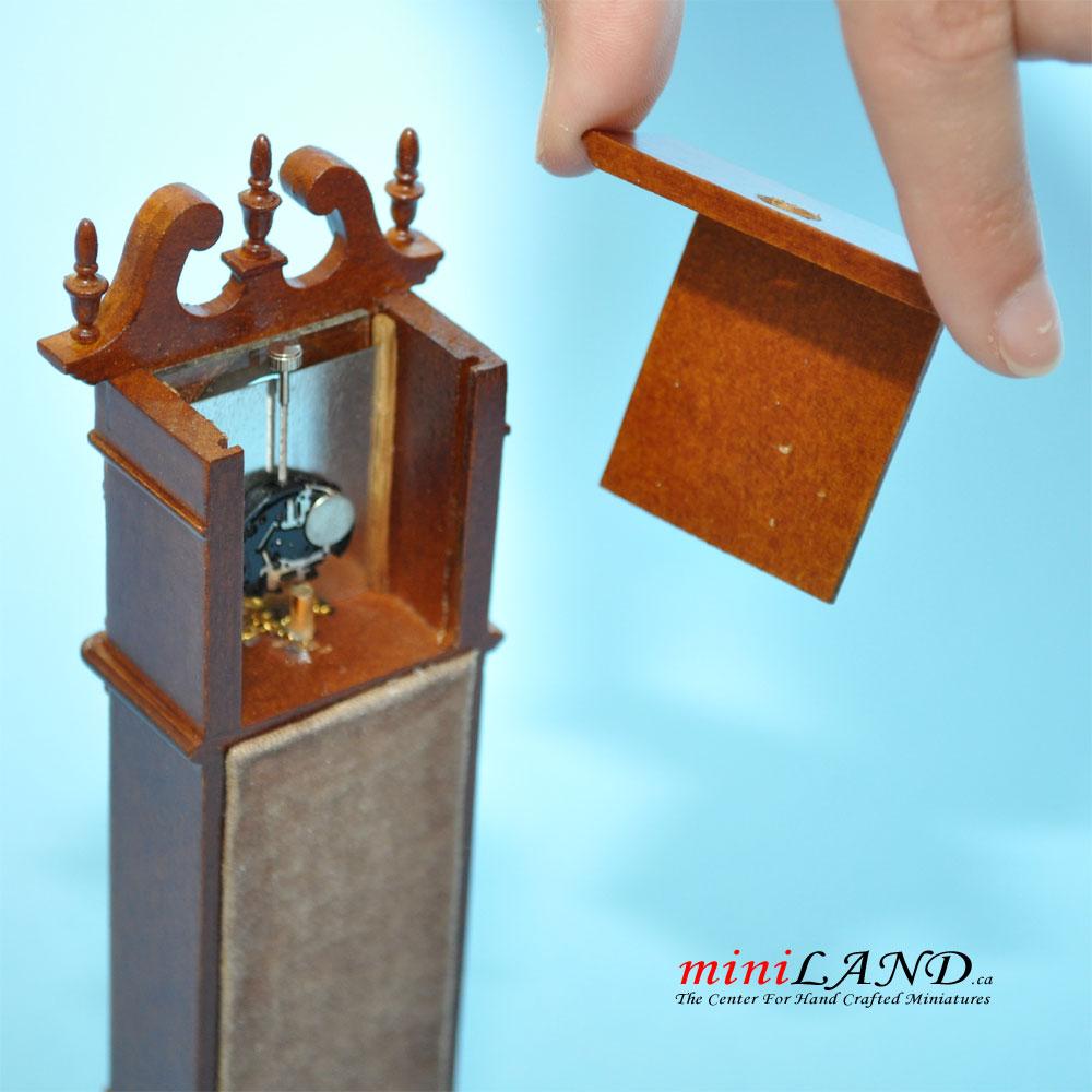 1//144 scale handmade grandfarther clock 1:144
