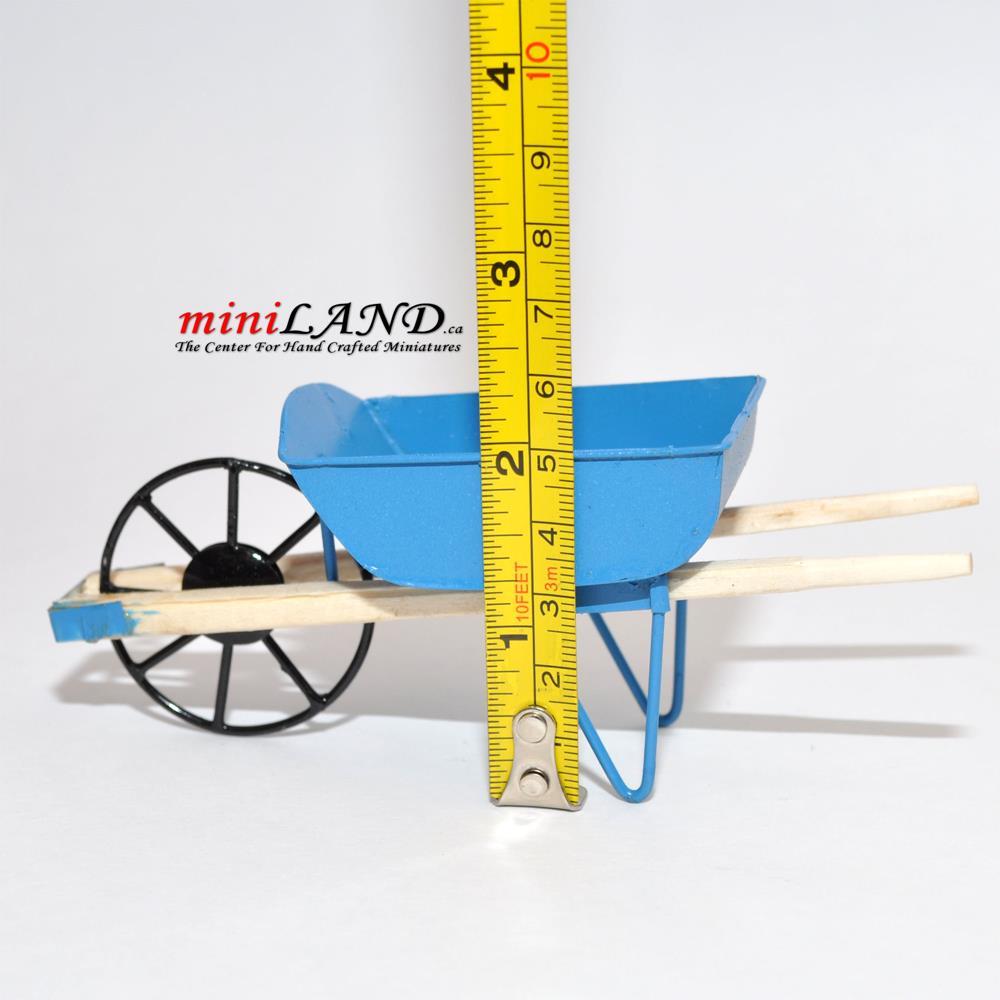 Doll house miniature 1//4 scale metal garden accessories Unpainted