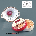 1.426/8 Small Cookie Tin Set Reutter Porzellan Dollhouse miniature 1:12