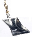 Metal DUSTPAN dollhouse miniature 1:12