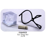 ICE TONG SET Dollhouse Miniature 1:12 scale