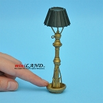 Floor lamp dollhouse miniature 1:12 scale nonworking