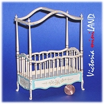 Fine Quality Belmont baby Crib bed 4640BF 1:12 scale