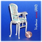 Fine Quality Belmont baby High Chair 4641BF 1:12 scale