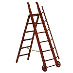 LIBRARY STORE  STEP LADDER 06593 Fine Quality MH 1:12 scale