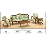 Economy Set 5pcs SHERATON living room set 1:12 scale dollhouses miniature