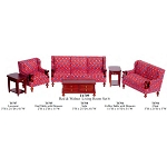 Economy Set 6pcs living ROOM set 1:12 scale dollhouses miniature T6709