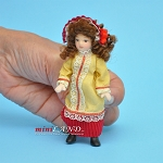 Victorian Girl Porcelain doll  4