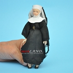 Nun Porcelain doll  5.5
