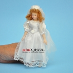 Bride Porcelain doll  5.5