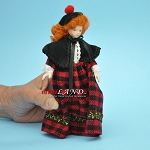 French Woman Porcelain doll  5.5