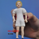 XKK03 Heidi Ott Dolls House Doll, Young Boy Blonde Hair 4""