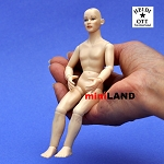 XKM09 Heidi Ott Dolls House Doll, Nude Man 6