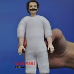 XKM10 Heidi Ott Dolls House Doll, Old Man with Hair 5.5