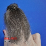 XW04 Heidi Ott Ladies Wig Doll House Miniature Hair hairstyle 1:12