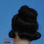 XW08 Heidi Ott Ladies Wig Doll House Miniature Hair hairstyle 1:12