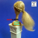 XW05 Heidi Ott Ladies Wig Doll House Miniature Hair hairstyle 1:12