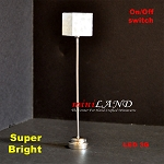Modern  floor lamp LED Super bright with On/off switch  5
