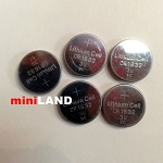 5pcs Lithium Battery 3V CR1632 for miniLAND LED lights 3G 1:12 scale