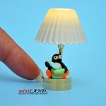 Child table LED LAMP light battery Handmade 1:12 Kid baby