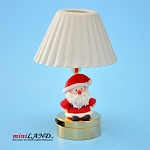 Child table LED LAMP light battery Handmade 1:12 Kid baby SANTA