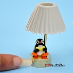 Child table LED LAMP light battery Handmade 1:12 Kid baby A