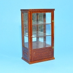 Display unite 1:12 dollhouse miniature shop store CABINET wood WN