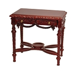 VICTORIAN ORNATE SIDE TABLE Dollhouse miniature 1:12 MH