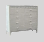 Clearance SALE - Half Scale 1:24 - Bedroom or Living Room Dresser