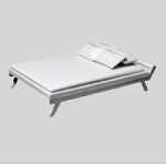 Clearance SALE - Half Scale 1:24 - Bed with pillows