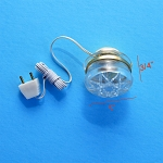 Clearance SALE clear ceiling Lamp 12v dollhouse miniature 1:12 light
