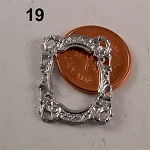FRAME M-19 unfinished DIY metal miniature for dollhouse - Do it yourself