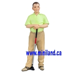 Ted  - Resin Doll for Dollhouses golfer 1:12 scale