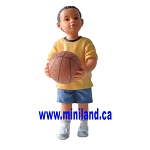 Michael - Resin Doll for 1:12 Dollhouses kid