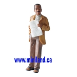 Samuel - Resin Doll for 1:12 Dollhouses man