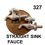 STRAIGHT SINK FAUCET 2pcs 3/4