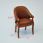 ART DECO ARM CHAIR WN3464 Fine Quality
