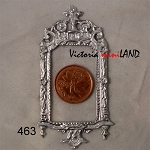 Victorian FRAME A02-463 unfinished DIY metal miniature for dollhouse - Do it yourself