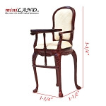 Fine QualityMH High Chair 4641MH 1:12 scale