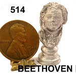 BEETHOVEN BUST statue 1