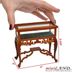 Wide Collection Rack store display for 1:12 dollhouse miniature