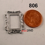 FRAME A01-3 unfinished DIY metal miniature for dollhouse - Do it yourself
