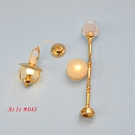 AS IS 0043 - AS IS -  3pcs non-working lights for decorative purposes or for parts