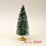 As IS - Christmas tree with changing LED color lights 1:12 scale dollhouse miniature 6
